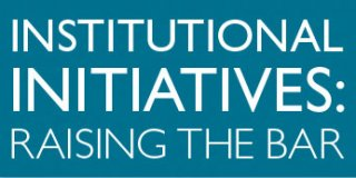 Institutional Initiatives
